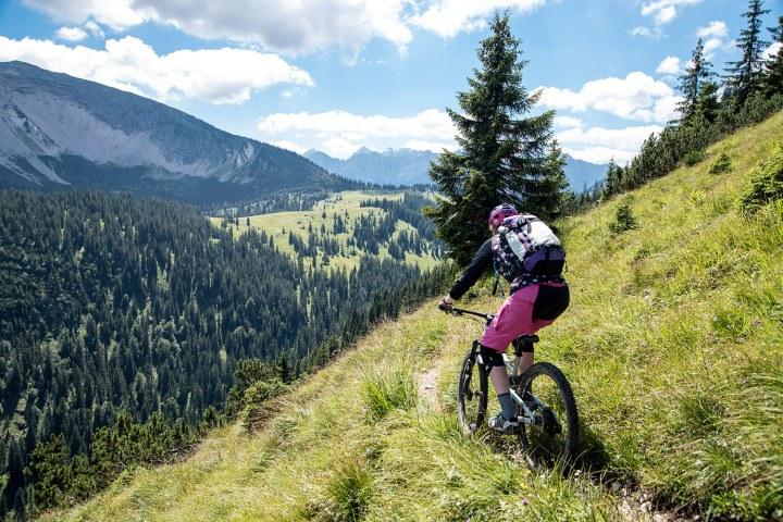 Mountainbiken macht den Kopffrei
