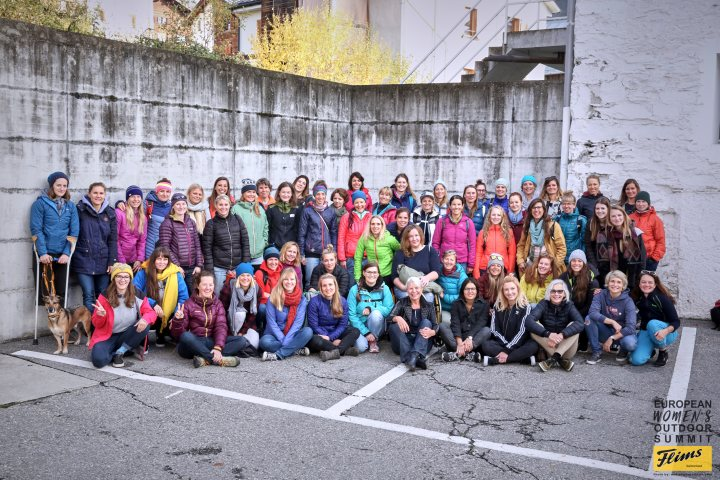 Crashing the boys party : Der 1. European Women's Outdoor Summit