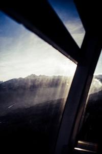 Blick aus Nordkettenbahn Innsbruck