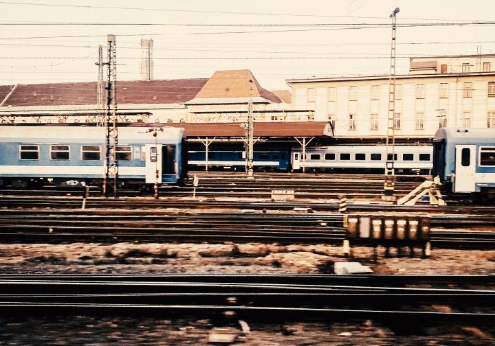 Züge und Schienen Budapest Keleti Bahnhof