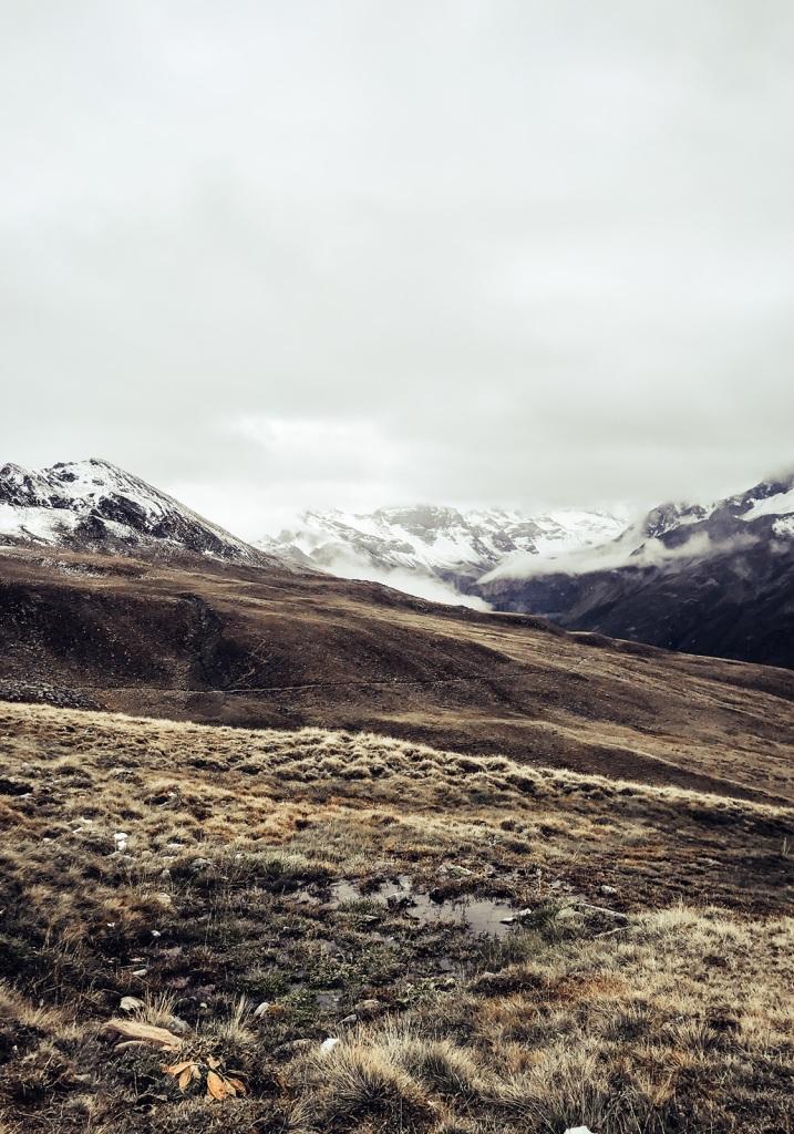 Davoser Bergwelt im Herbst
